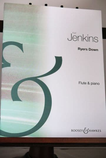 Jenkins K - Ryers Down for Flute & Piano